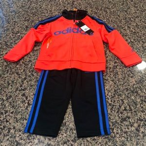 Adidas 2 piece matching track suit, new with tags